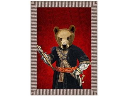 Арт-постер мистер кинг (object desire) красный 50.0x70.0x4.0 см.