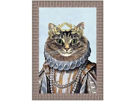 Арт-постер мисс кошка (object desire) мультиколор 50.0x70.0x4.0 см.