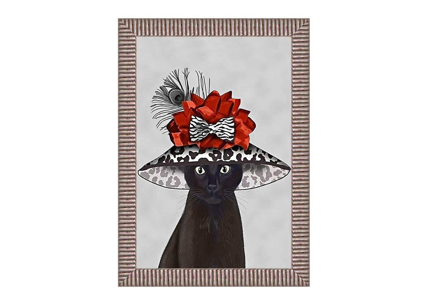 Арт-постер Мисс ФэшнПостеры<br>Дымчатое обрамление эффектно подчеркивает яркость забавной анималистической репродукции, в совершенстве владеющей зарядом интерьерного настроения. Картина &amp;quot;Мисс Фэшн&amp;quot; - желанное интерьерное украшение гостиной и детской комнат, столовой, спальни, кабинета, холла и прихожей, способное задать пространству яркий фешенебельный стиль.Картины - простой, но надежный инструмент интерьерного настроения. По законам контраста, на фоне строгой урбанистичной рамы особую выразительность обретет яркая живопись, разыгрывающая забавные анималистичные приключения. &amp;lt;div&amp;gt;&amp;lt;br&amp;gt;&amp;lt;/div&amp;gt;&amp;lt;div&amp;gt;Материал&amp;lt;span class=&amp;quot;Apple-tab-span&amp;quot; style=&amp;quot;white-space:pre&amp;quot;&amp;gt;&amp;lt;/span&amp;gt;рама из багета цвета стареного серебра, ручное патинирование багета, дизайнерская бумага, защитный пластик&amp;lt;br&amp;gt;&amp;lt;/div&amp;gt;<br><br>Material: Бумага<br>Width см: 50<br>Depth см: 4<br>Height см: 70