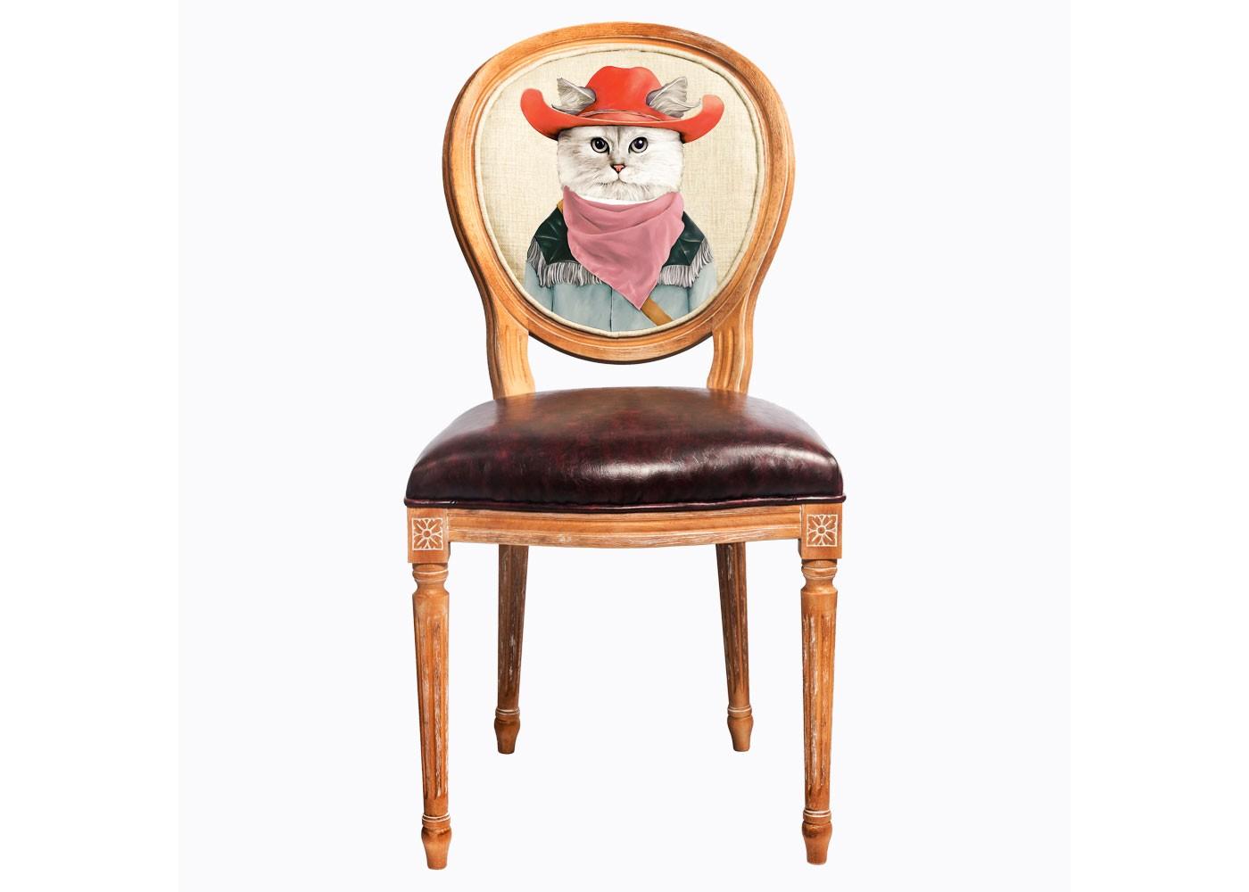 Стул «Мистер Ковбой»Обеденные стулья<br>&amp;lt;div&amp;gt;Смелые контрасты - привилегия интерьера, ценящего стиль и индивидуальность.Стул &amp;quot;Мистер Ковбой&amp;quot; - универсальное, но отборное решение гостиной, столовой, спальни, кабинета, холла и детской комнаты.&amp;amp;nbsp;&amp;lt;/div&amp;gt;&amp;lt;div&amp;gt;Не упустите случай обладания поистине уникальной дизайнерской мебелью, - каждый из рисунков выпущен лимитированным тиражом.&amp;lt;br&amp;gt;&amp;lt;/div&amp;gt;&amp;lt;div&amp;gt;Мебель и аксессуары от &amp;quot;Объекта мечты&amp;quot; - единый коллекционный&amp;amp;amp;nbsp;&amp;amp;gt;дизайн Вашего дома.&amp;lt;/div&amp;gt;&amp;lt;div&amp;gt;&amp;lt;br&amp;gt;&amp;lt;/div&amp;gt;&amp;lt;div&amp;gt;Материал: бук, экокожа, лен, хлопок&amp;lt;br&amp;gt;&amp;lt;/div&amp;gt;&amp;lt;div&amp;gt;&amp;lt;br&amp;gt;&amp;lt;/div&amp;gt;&amp;lt;div&amp;gt;&amp;lt;br&amp;gt;&amp;lt;/div&amp;gt;&amp;lt;div&amp;gt;&amp;lt;br&amp;gt;&amp;lt;/div&amp;gt;&amp;lt;div&amp;gt;&amp;lt;/div&amp;gt;<br><br>&amp;lt;iframe width=&amp;quot;530&amp;quot; height=&amp;quot;315&amp;quot; src=&amp;quot;https://www.youtube.com/embed/3vitXSFtUrE&amp;quot; frameborder=&amp;quot;0&amp;quot; allowfullscreen=&amp;quot;&amp;quot;&amp;gt;&amp;lt;/iframe&amp;gt;<br><br>Material: Дерево<br>Width см: 50<br>Depth см: 47<br>Height см: 98
