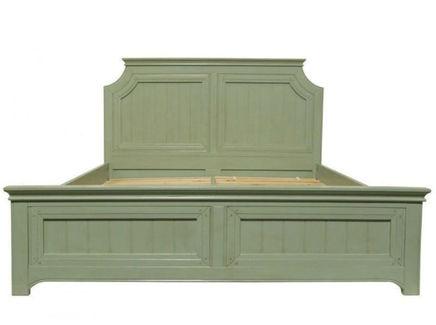 Кровать olivia (etg-home) зеленый 160x140x200 см.