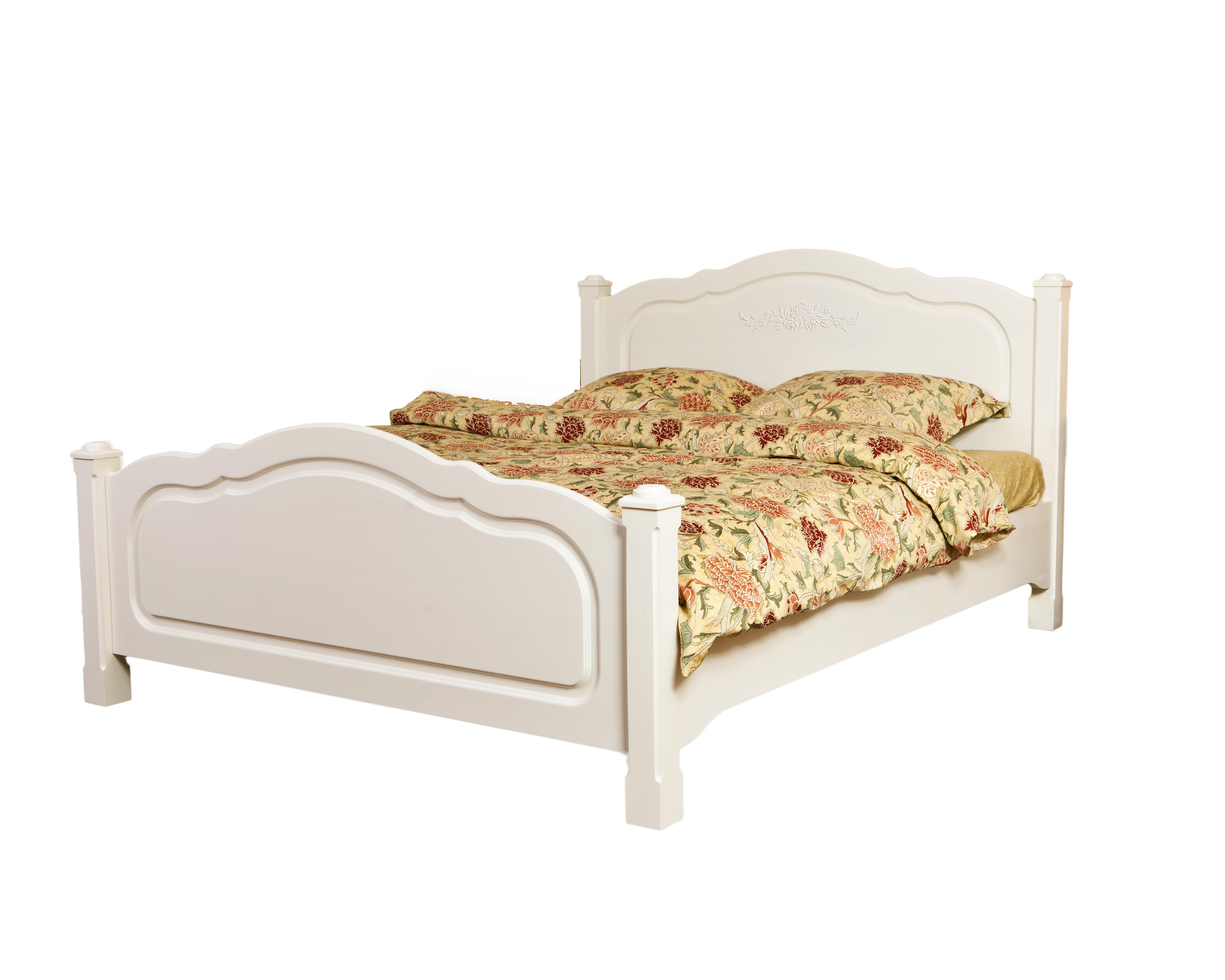 """Кровать """"Belle Fleur Blanc"""""""
