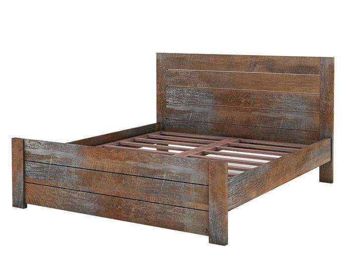 Кровать HongKong KingДеревянные кровати<br>Брутальный дизайн кровати HongKong King новой коллекции D-Bodhi по достоинству оценят любители простоты, практичного минимализма и особенного вкуса. Кровать выполнена из массива тика, практична и надежна. Наличие такой кровати в вашей стальни - это то элегантное и практичное решение, в котором Вы будете уверены на протяжении долгих лет.<br><br>Material: Тик<br>Length см: 210<br>Width см: 190<br>Depth см: None<br>Height см: 111<br>Diameter см: None