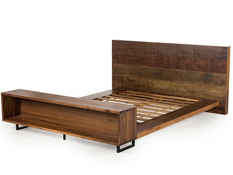 Кровать Atwood QueenДеревянные кровати<br>размер спального места - 160 х 200 см<br><br>Material: Тик<br>Length см: 246<br>Width см: 195<br>Depth см: None<br>Height см: 94<br>Diameter см: None