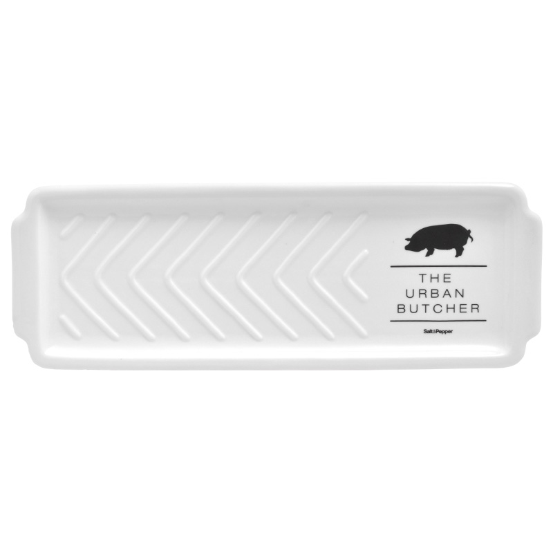 Блюдо BUTCHERДекоративные блюда<br><br><br>Material: Фарфор<br>Ширина см: 40.0<br>Глубина см: 15.0