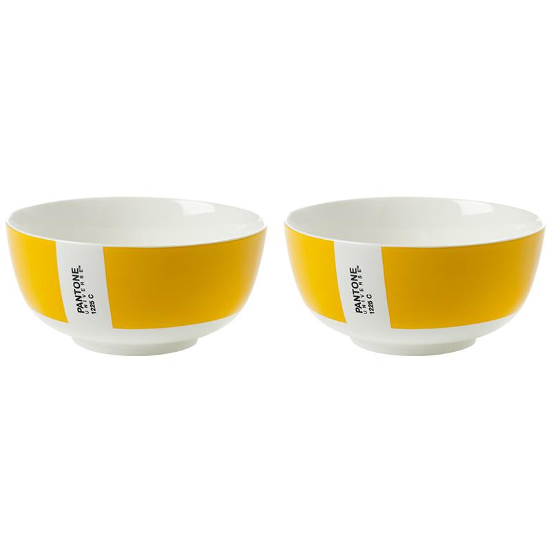 Салатник PANTONE (2 шт)Чаши<br><br><br>Material: Фарфор<br>Height см: 6<br>Diameter см: 12