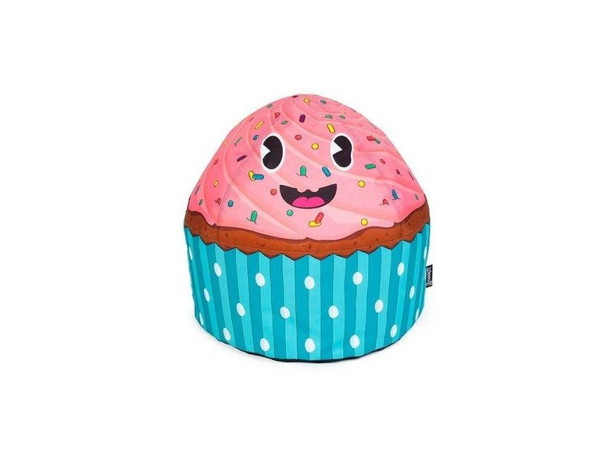 Пуфик Cupcake KidsФорменные пуфы<br>Чудесный пуфик Cupcake Kids врывается в детскую ураганом красок и эмоций. Дизайнеры Woouf! дарят постоянный источник хорошего настроения самым маленьким ценителям их идей. Купите пуф Cupcake Kids — и в комнате вашего ребёнка поселится позитивный персонаж, в присутствии которого грустить совершенно невозможно. Пуф наполнен полистироловыми шариками. Чехол сшит из прочной синтетики.&amp;amp;nbsp;<br><br>Material: Текстиль<br>Height см: 35<br>Diameter см: 45