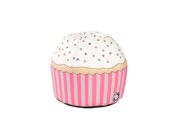 Пуф Cherry CupcakeФорменные пуфы<br><br><br>Material: Текстиль<br>Height см: 38<br>Diameter см: 43