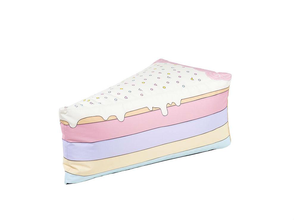 Детский пуфик Rainbow CakeФорменные пуфы<br><br><br>Material: Текстиль<br>Width см: 80<br>Depth см: 50<br>Height см: 35