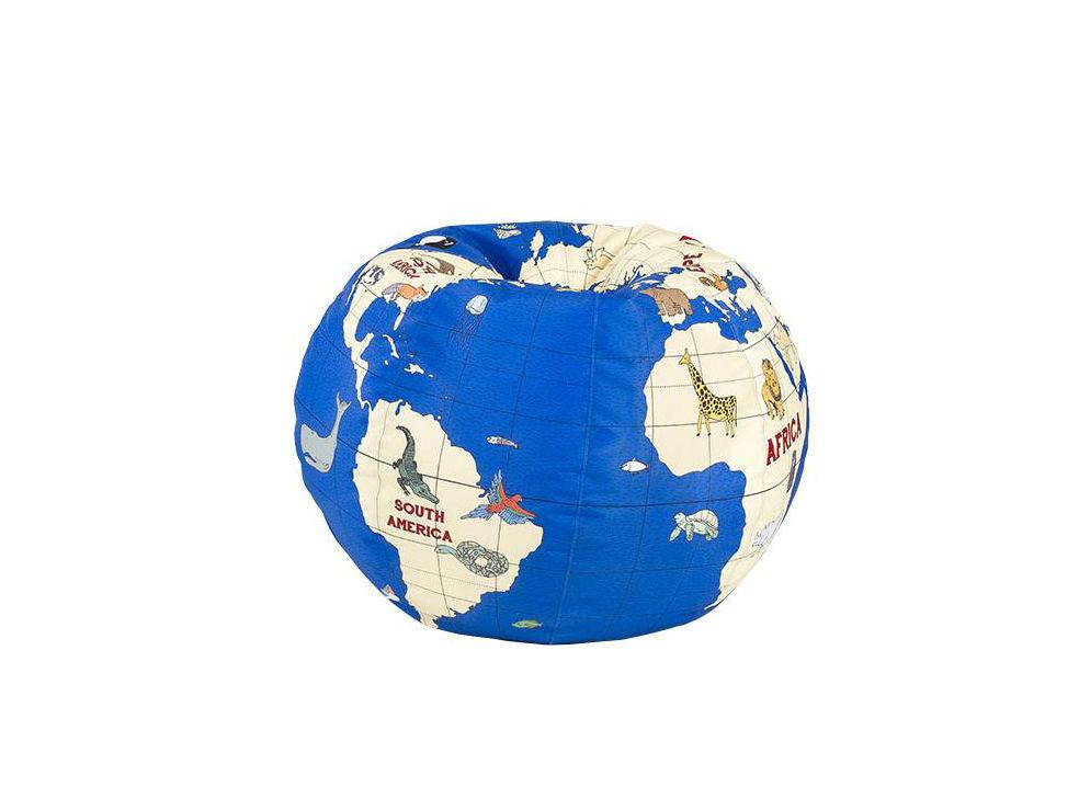 Пуф Kids GlobeБесформенные пуфы<br><br><br>Material: Текстиль<br>Height см: 50<br>Diameter см: 65