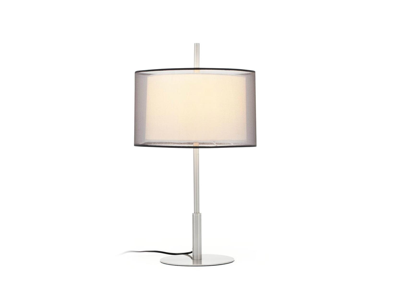 Настольная лампа SabaДекоративные лампы<br>&amp;lt;div&amp;gt;Настольная лампа Saba дарит приятный тёплый свет и позволяет с комфортом провести время за чтением, письмом, рукоделием и чем вам ещё заблагорассудится. Главная «фишка» коллекции Saba — двойной абажур: внутри конструкции располагается диффузор из опалового стекла, внешний элемент обтянут полупрозрачной тканью, которая обеспечивает первоклассную игру света. При включенном светильнике Saba в помещении чувствуешь себя по-особому — спокойно, расслабленно, в безопасности. Ножка лампы имеет никелированное покрытие.&amp;lt;br&amp;gt;&amp;lt;/div&amp;gt;&amp;lt;div&amp;gt;&amp;lt;br&amp;gt;&amp;lt;/div&amp;gt;Вид цоколя: Е27&amp;lt;div&amp;gt;Мощность лампы: 40W&amp;lt;/div&amp;gt;&amp;lt;div&amp;gt;Количество ламп: 1&amp;lt;/div&amp;gt;&amp;lt;div&amp;gt;Наличие ламп: нет&amp;lt;/div&amp;gt;<br><br>Material: Металл<br>Height см: 59<br>Diameter см: 32