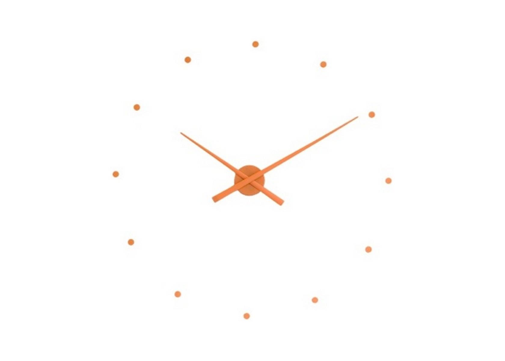 """Часы Oj PumkinНастенные часы<br>Дизайнерские часы OJ и OJ Mini выражают новую концепцию в дизайне аксессуара, который для стильного дома или офиса обязателен. Блистательный Хосе Мария Рейна предлагает минималистичную, универсальную и актуальную модель, которая легко """"встраивается"""" в обстановку. Чтобы вы правильно расположили элементы конструкции, к каждому изделию Nomon прилагается специальный трафарет. За исправный ход стрелок отвечает качественный кварцевый механизм UTS (Германия).&amp;amp;nbsp;&amp;lt;div&amp;gt;&amp;lt;br&amp;gt;&amp;lt;/div&amp;gt;&amp;lt;div&amp;gt;Часы работают от пальчиковой батарейки АА 1,5 V (элементы питания в комплекте не идут). Стандартная модель OJ выполнена в диаметре 80 см, вариант mini — 50 см. Обратите внимание, что размер не влияет на цену часов.&amp;lt;/div&amp;gt;<br><br>Material: Пластик<br>Depth см: 3<br>Diameter см: 80"""