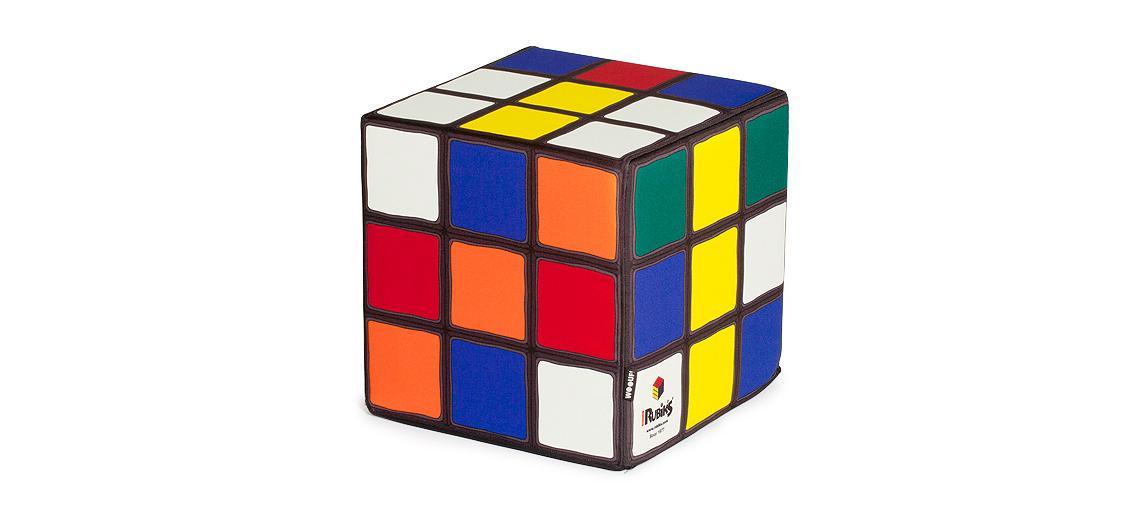 Пуфик RubiksФорменные пуфы<br>Кубику Рубика недавно исполнилось сорок лет. На сегодняшний день эта головоломка продолжает удерживать пальму первенства по числу продаж, оставляя далеко позади другие игрушки. У людей увлечённых уходит всего несколько секунд на то, чтобы собрать популярную головоломку. Мы же предлагаем купить пуф Rubik's в виде кубика, который не соберёт никто. Он прекрасен именно в таком виде — в хаотичном калейдоскопе цветов. Стильный бинбег выполнен из синтетических материалов разной степени плотности, которые позволяют модели удерживать форму, но при этом оставаться достаточно мягкой для пуфа. Чехол сшит из полиэстера.<br><br>Material: Текстиль<br>Width см: 40<br>Depth см: 40<br>Height см: 40