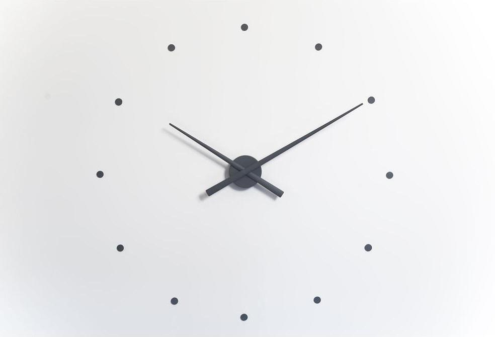 """Часы OjНастенные часы<br>&amp;lt;div&amp;gt;Дизайнерские часы OJ и OJ Mini выражают новую концепцию в дизайне аксессуара, который для стильного дома или офиса обязателен. Блистательный Хосе Мария Рейна предлагает минималистичную, универсальную и актуальную модель, которая легко """"встраивается"""" в обстановку. Купив настенные часы OJ Mustard, вы сможете использовать их в самых разных по функциональному наполнению пространствах. Корпус, стрелки, часовые деления часов OJ выполнены из пластика и окрашены в нейтральный серый цвет. Также в коллекции представлены часы белого, фиолетового, красного, оранжевого, шоколадного, чёрного, синего, стального синего, горчичного, серебряного, зелёного, тыквенного, розового и ультрамаринового цвета. Чтобы вы правильно расположили элементы конструкции, к каждому изделию Nomon прилагается специальный трафарет. За исправный ход стрелок отвечает качественный кварцевый механизм UTS (Германия). Стандартная модель OJ выполнена в диаметре 80 см, вариант mini — 50 см. Обратите внимание, что размер не влияет на цену часов.&amp;lt;/div&amp;gt;&amp;lt;div&amp;gt;&amp;lt;br&amp;gt;&amp;lt;/div&amp;gt;&amp;lt;div&amp;gt;Часы работают от пальчиковой батарейки АА 1,5 V (элементы питания в комплекте не идут).&amp;lt;/div&amp;gt;<br><br>Material: Металл<br>Length см: None<br>Width см: None<br>Depth см: None<br>Height см: None<br>Diameter см: 80"""