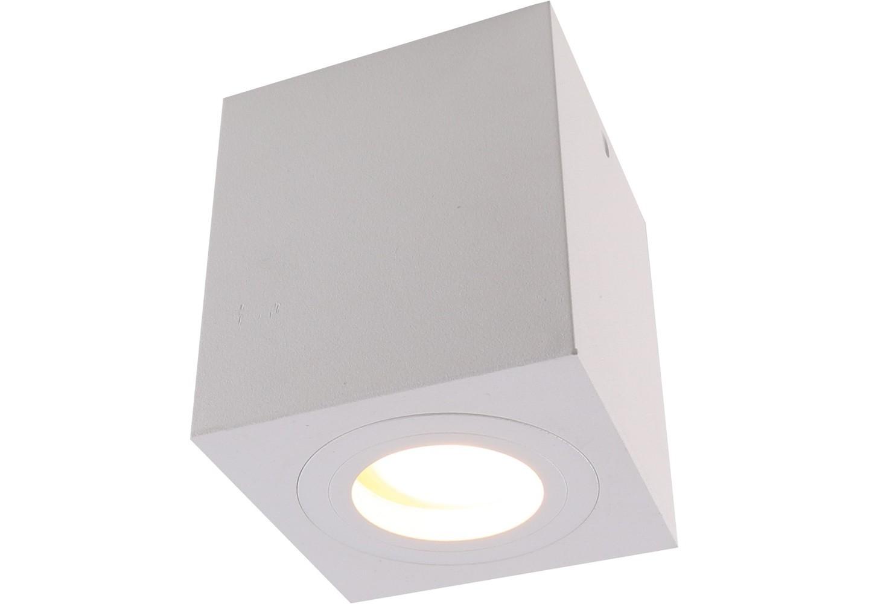 Влагозащищенный светильникТочечный свет<br>&amp;lt;div&amp;gt;Вид цоколя: GU10&amp;lt;/div&amp;gt;&amp;lt;div&amp;gt;Мощность: 50W&amp;amp;nbsp;&amp;lt;/div&amp;gt;&amp;lt;div&amp;gt;Количество ламп: 1&amp;lt;/div&amp;gt;<br><br>Material: Алюминий<br>Width см: 9<br>Depth см: 9<br>Height см: 9,5