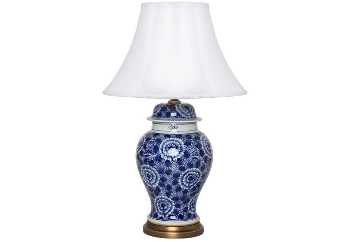 Лампа настольная JCO-X10361-1Декоративные лампы<br><br><br>Material: Керамика<br>Height см: 71<br>Diameter см: 45