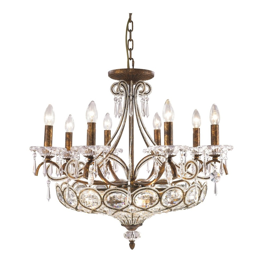 Подвесной светильникЛюстры подвесные<br>&amp;lt;div&amp;gt;Тип цоколя: E14&amp;lt;/div&amp;gt;&amp;lt;div&amp;gt;Мощность лампы: 40W&amp;amp;nbsp;&amp;lt;/div&amp;gt;&amp;lt;div&amp;gt;Количество ламп: 14 (нет в комплекте)&amp;lt;/div&amp;gt;<br><br>Material: Хрусталь<br>Height см: 60.6<br>Diameter см: 70