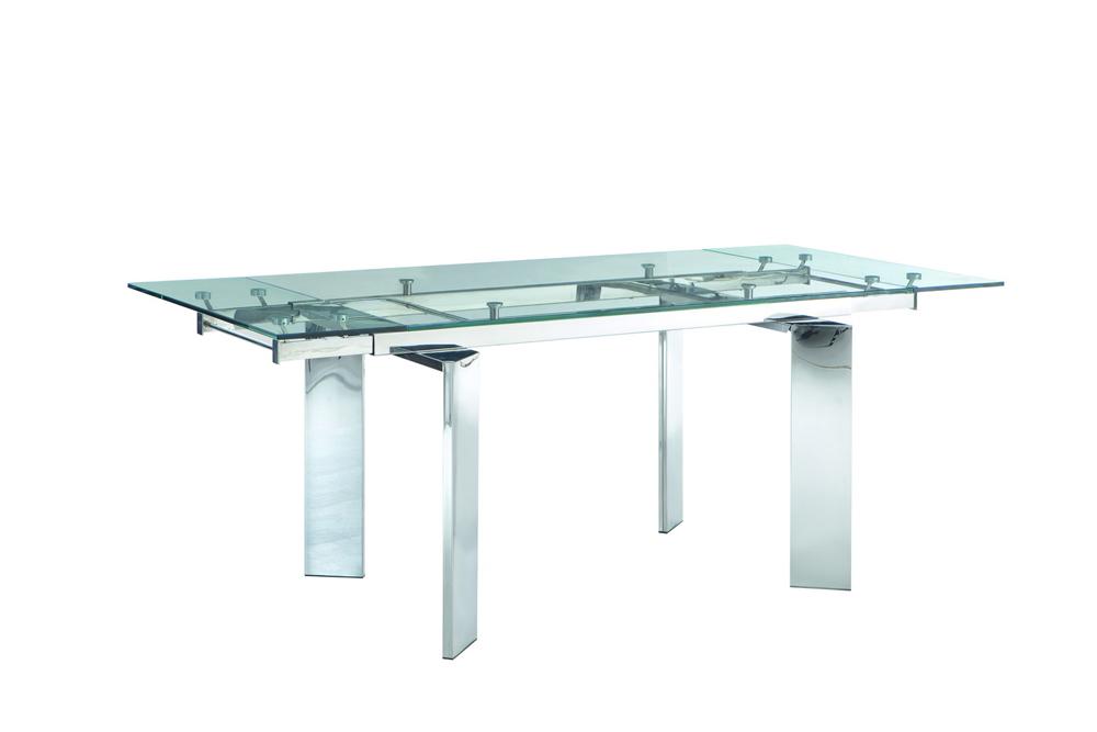 Стол T 095Обеденные столы<br>&amp;lt;span style=&amp;quot;line-height: 24.9999px;&amp;quot;&amp;gt;Требуется сборка. Раскладывается до ширины 200 см.&amp;lt;/span&amp;gt;<br><br>Material: Стекло<br>Ширина см: 140<br>Высота см: 76<br>Глубина см: 85