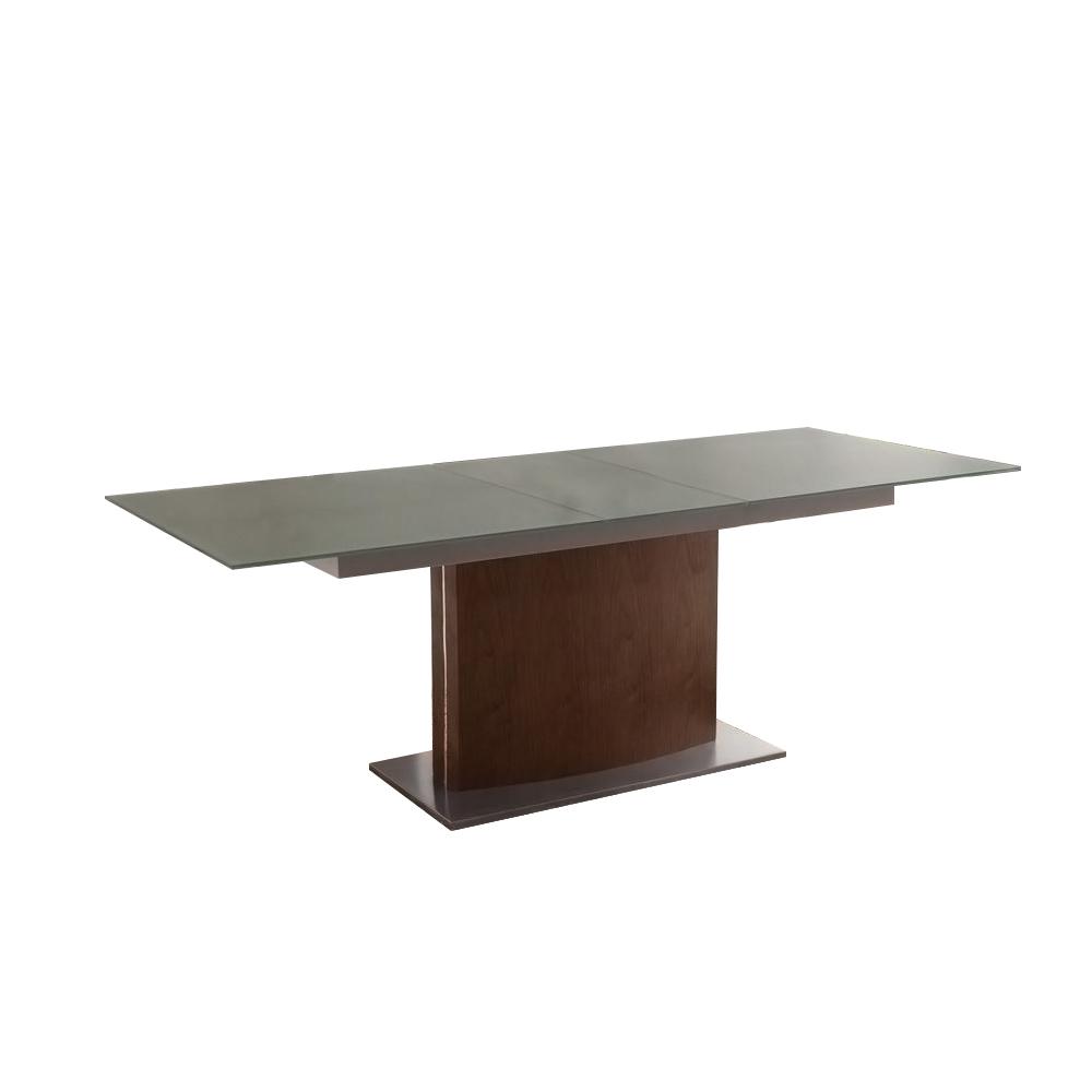 Стол HT-2156 темныйОбеденные столы<br>Раскладывается: 180-220 см&amp;lt;div&amp;gt;&amp;lt;br&amp;gt;&amp;lt;/div&amp;gt;&amp;lt;div&amp;gt;Столешница- стекло, основание покрыто шпоном.&amp;lt;br&amp;gt;&amp;lt;/div&amp;gt;<br><br>Material: МДФ<br>Width см: 180<br>Depth см: 90<br>Height см: 76