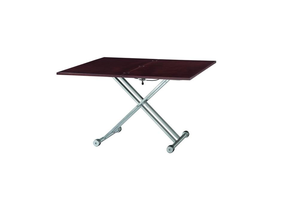 Стол В2166 AG венгеОбеденные столы<br>Требуется сборка.<br>Раскладывается до глубины 60-120 см, высоты 27-74 см.<br><br>Material: МДФ<br>Ширина см: 110<br>Высота см: 27<br>Глубина см: 60