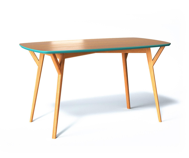 Обеденный стол ProsoОбеденные столы<br>Обеденный стол PROSO обладает универсальным дизайном и исключительно устойчивым основанием, что делает его незаменимым в больших семьях и общественных местах. Отсутствие острых углов бережет от нежелательных царапин, а множество вариантов отделок дают возможность создать неповторимую атмосферу.<br><br>Material: Дуб<br>Ширина см: 140<br>Высота см: 75<br>Глубина см: 80