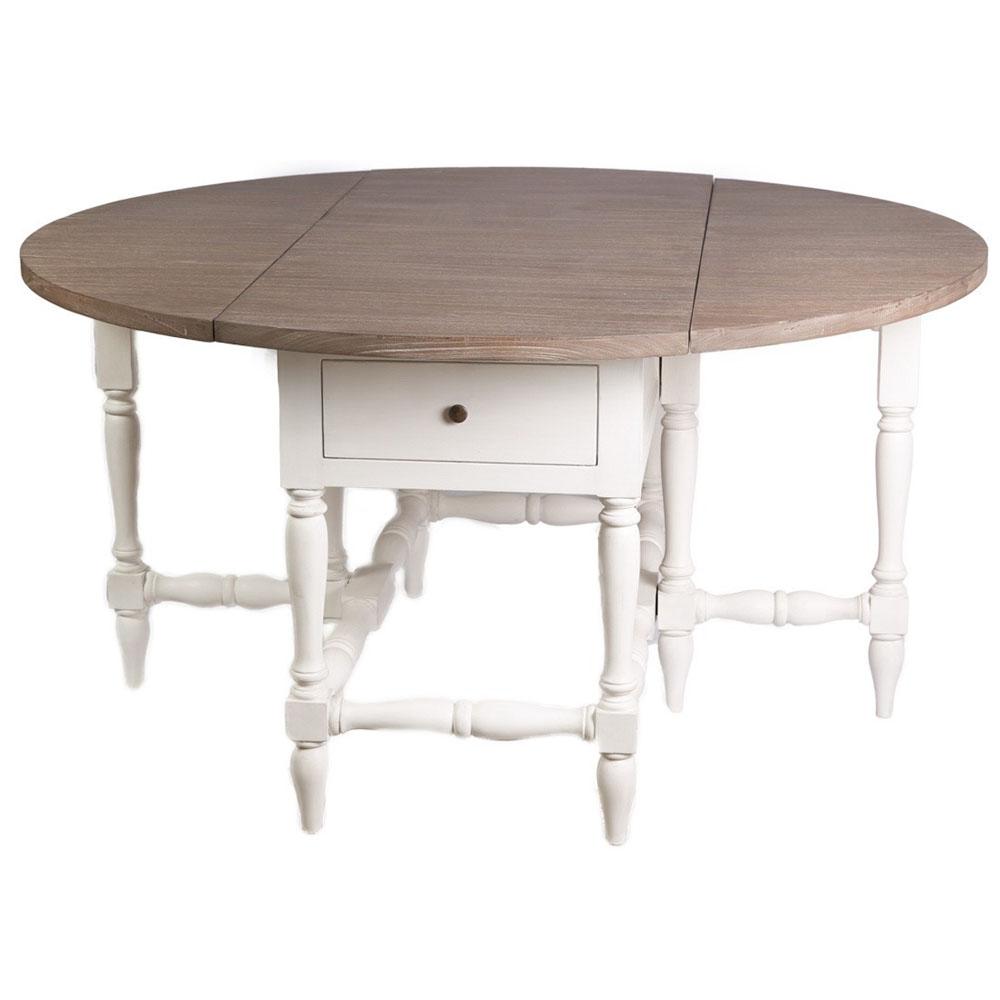 Обеденный столОбеденные столы<br>Утонченный дизайн круглого обеденного стола приведет ваших гостей в восторг. Две раскладывающихся стороны делают этот изысканный стол очень практичным и удобным. За таким столом будет приятно собраться всей семьей или в кругу любимых друзей<br><br>Material: Красное дерево<br>Length см: None<br>Width см: None<br>Depth см: None<br>Height см: 78<br>Diameter см: 150