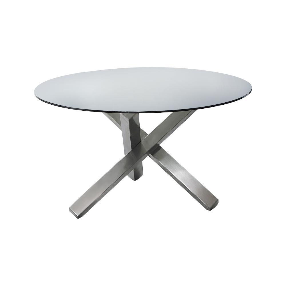 Стол BZ-951Обеденные столы<br>Требуется сборка.<br><br>Material: Стекло<br>Height см: 75<br>Diameter см: 135