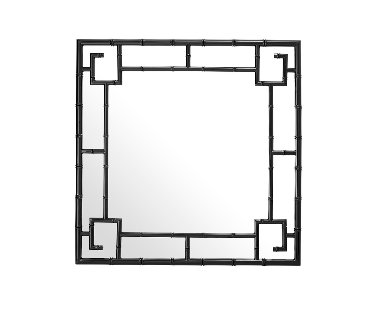 ЗеркалоНастенные зеркала<br>Зеркало Mirror San Rafael в раме черного цвета.<br><br>Material: Металл<br>Ширина см: 100.0<br>Высота см: 100.0