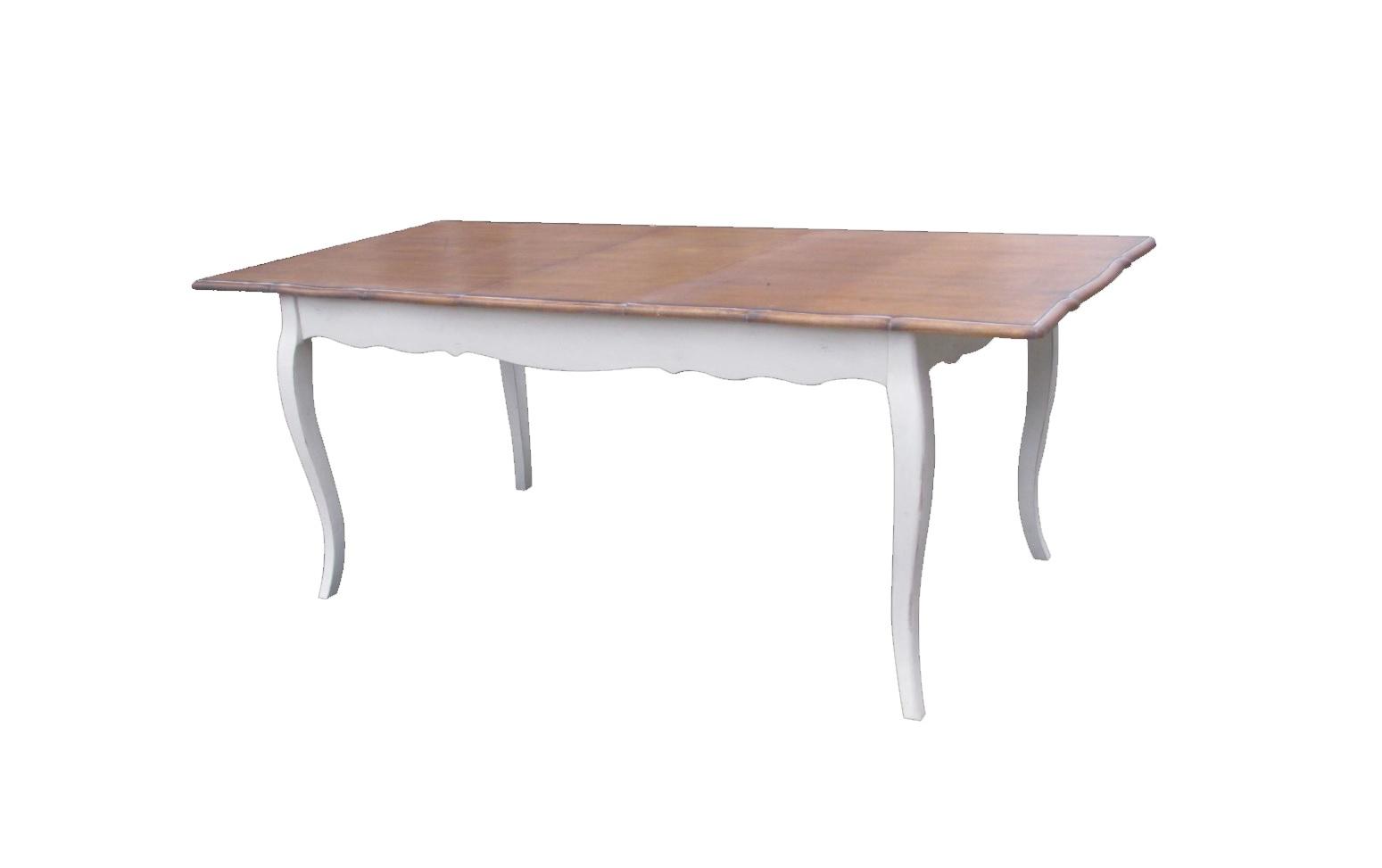 Стол раскладной Blanc bonbonОбеденные столы<br>&amp;quot;Blanc Bonbon&amp;quot; ? стол, который позволит вам собрать вместе всю семью. Он имеет длину, достаточную, чтобы уместить даже самую большую компанию. От оформления стола в прованском стиле так и веет домашним теплом и добротой. А что еще нужно для создания приятной атмосферы во время веселых и душевных сборов самых близких друг другу людей?<br><br><br><br><br>&amp;amp;nbsp;&amp;lt;div&amp;gt;&amp;lt;br&amp;gt;&amp;lt;/div&amp;gt;&amp;lt;div&amp;gt;Стол раскладной, длина регулируется - 90-200 см.&amp;lt;/div&amp;gt;<br><br>Material: Дерево<br>Length см: None<br>Width см: 90<br>Depth см: 160<br>Height см: 77