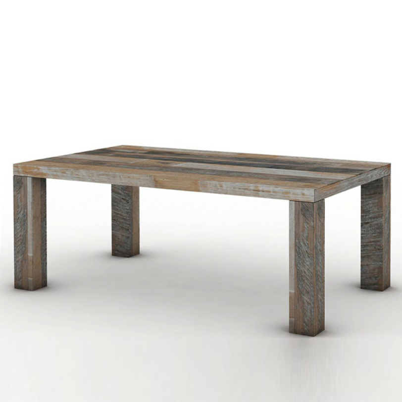 Стол обеденный Soula 210Обеденные столы<br>Обеденный стол из массива тика из новой коллекции фабрики D-Bodhi. Выполнен из антикварной древесины. Отличается простотой формы и высоким качеством исполнения. Достоен приёма самых высоких гостей в Вашем доме.<br>Вес 85 кг<br><br>Material: Тик<br>Length см: 210<br>Width см: 100<br>Depth см: None<br>Height см: 78<br>Diameter см: None