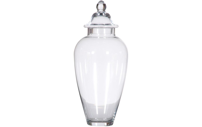 Ваза настольная Container GlassВазы<br><br><br>Material: Стекло<br>Height см: 64<br>Diameter см: 28