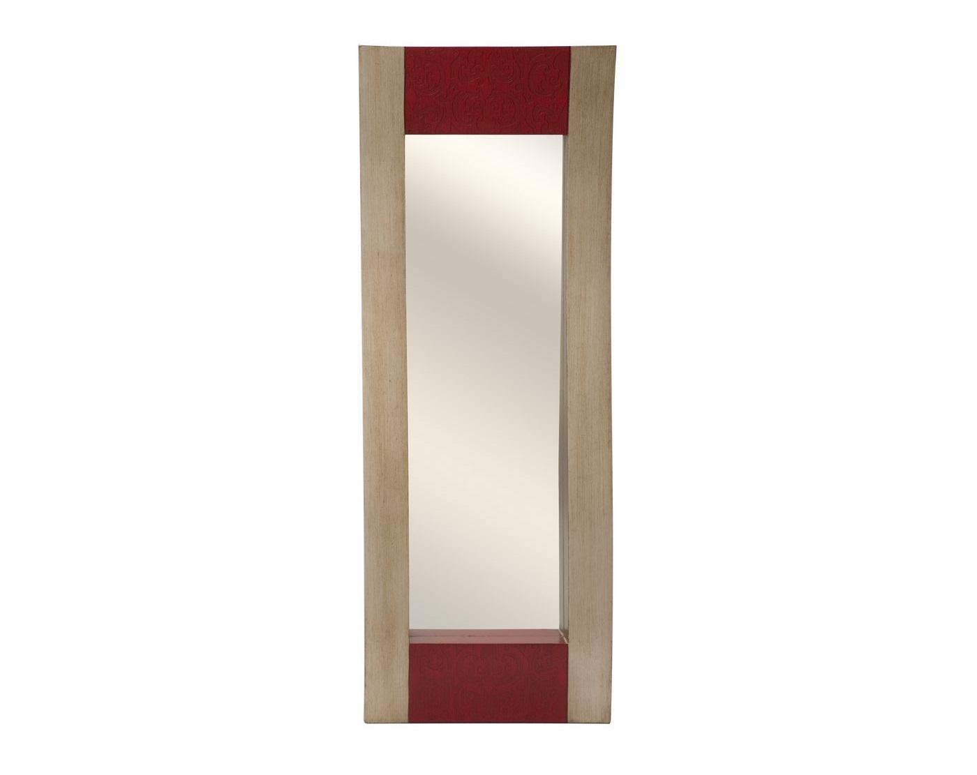 Зеркало ShineНастенные зеркала<br>Зеркало &amp;quot;Shine&amp;quot; визуально сделает комнату просторнее и светлее.<br><br>Material: МДФ<br>Length см: 44<br>Width см: 7<br>Height см: 120