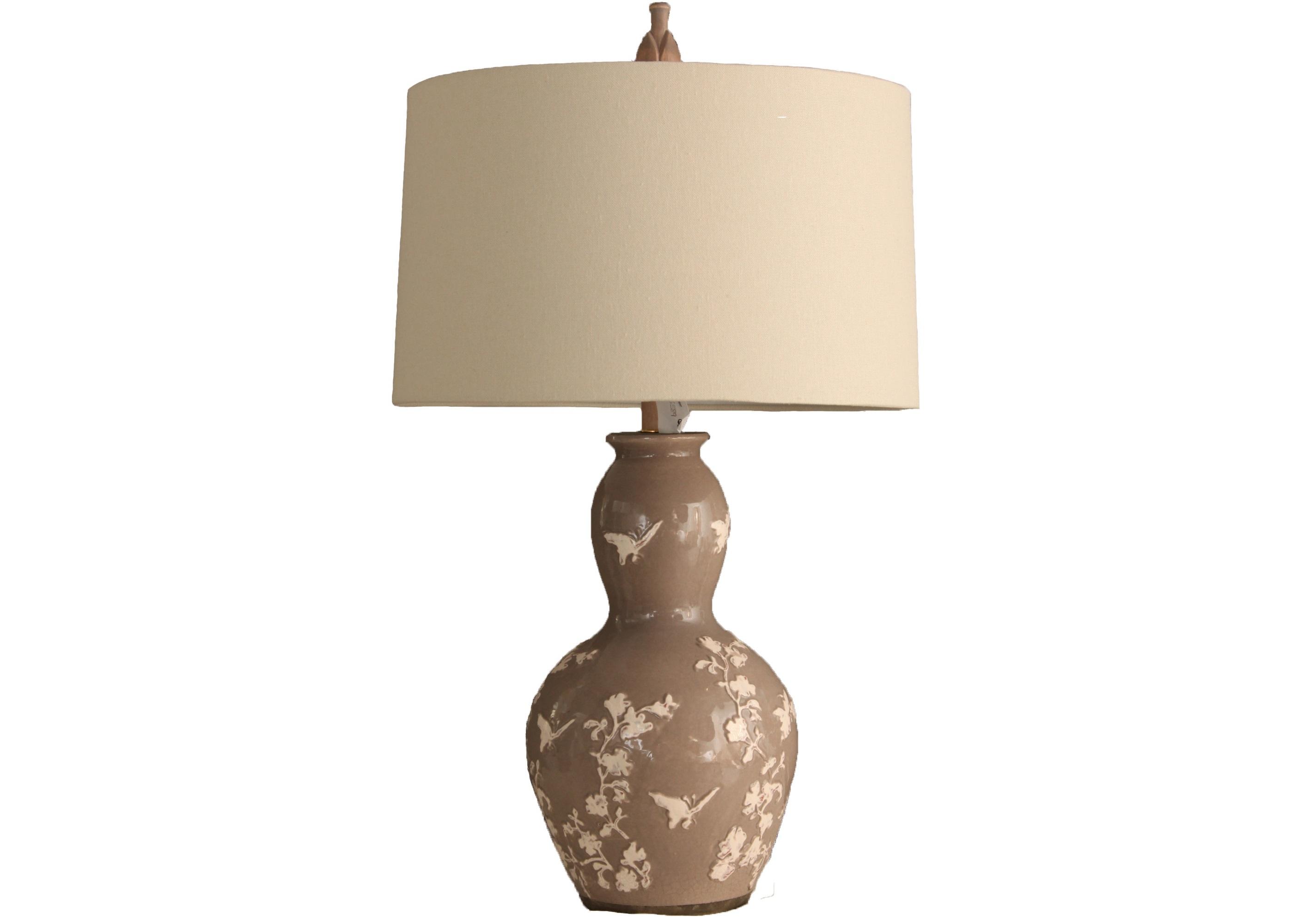 Настольная Лампа Taupe Garden GourdДекоративные лампы<br>The Natural Light – это целая философия света, которая заключается всего в нескольких простых словах: природа – это лучшее, что у нас есть. Сохраняя любовь к природе и умело воплощая природную теплоту в предметах декора, компания создает по-настоящему великолепные вещи, способные преобразить любое пространство.&amp;amp;nbsp;&amp;lt;div&amp;gt;&amp;lt;br&amp;gt;&amp;lt;/div&amp;gt;&amp;lt;div&amp;gt;&amp;lt;div&amp;gt;Вид цоколя: Е27&amp;lt;/div&amp;gt;&amp;lt;div&amp;gt;Мощность лампы: 100W&amp;lt;/div&amp;gt;&amp;lt;div&amp;gt;Количество ламп: 1&amp;lt;/div&amp;gt;&amp;lt;/div&amp;gt;<br><br>Material: Керамика<br>Length см: 0<br>Width см: 43<br>Depth см: 43<br>Height см: 86<br>Diameter см: 0
