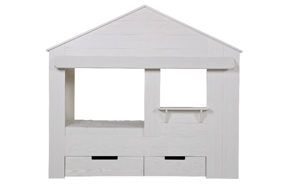 """De Eekhoorn Кровать-домик """"Huisie cupboard bed"""""""