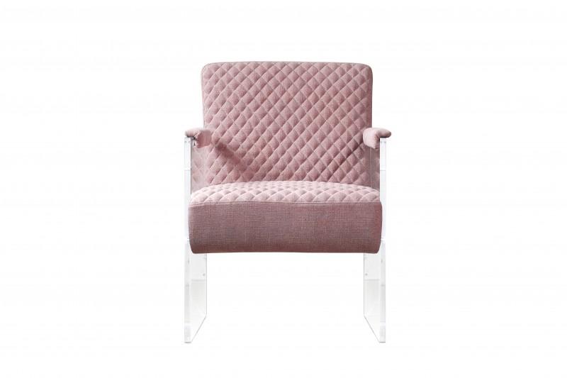 Кресло DevonИнтерьерные кресла<br>Розовое кресло Devon — одна из любимейших наших моделей. Это кресло невероятно стильное и благородное, благодаря своим четким линиям и сочетанию высококачественного велюра с боковыми стенками из пластикового акрилового стекла. Оно непременно станет любимым элементом девичьей спальни, гостиной и даже детской комнаты.<br><br>Material: Велюр<br>Width см: 61<br>Depth см: 76<br>Height см: 81
