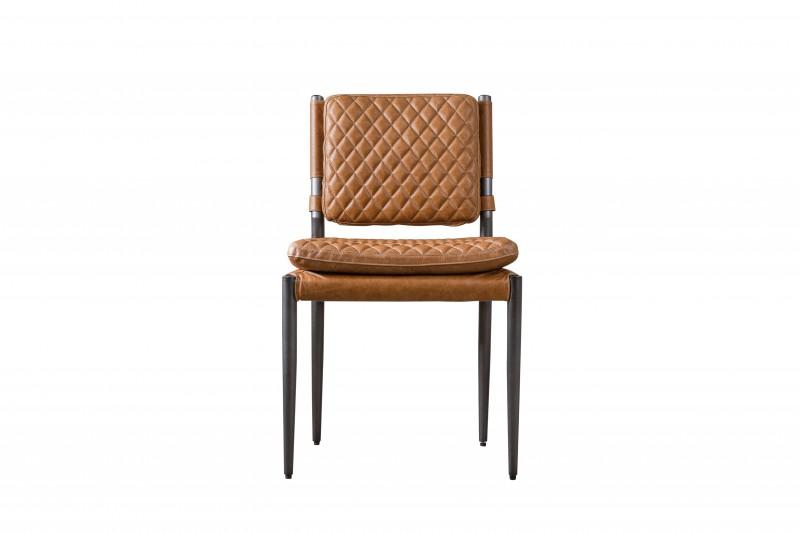 Стул CapriОбеденные стулья<br><br><br>Material: Кожа<br>Width см: 52<br>Depth см: 58<br>Height см: 85