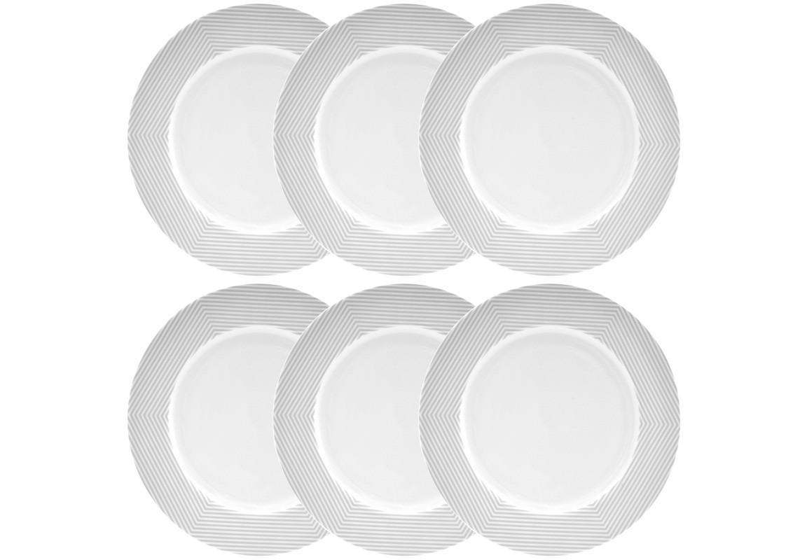 Тарелка MALVERN (6 шт)Тарелки<br><br><br>Material: Фарфор<br>Diameter см: 27