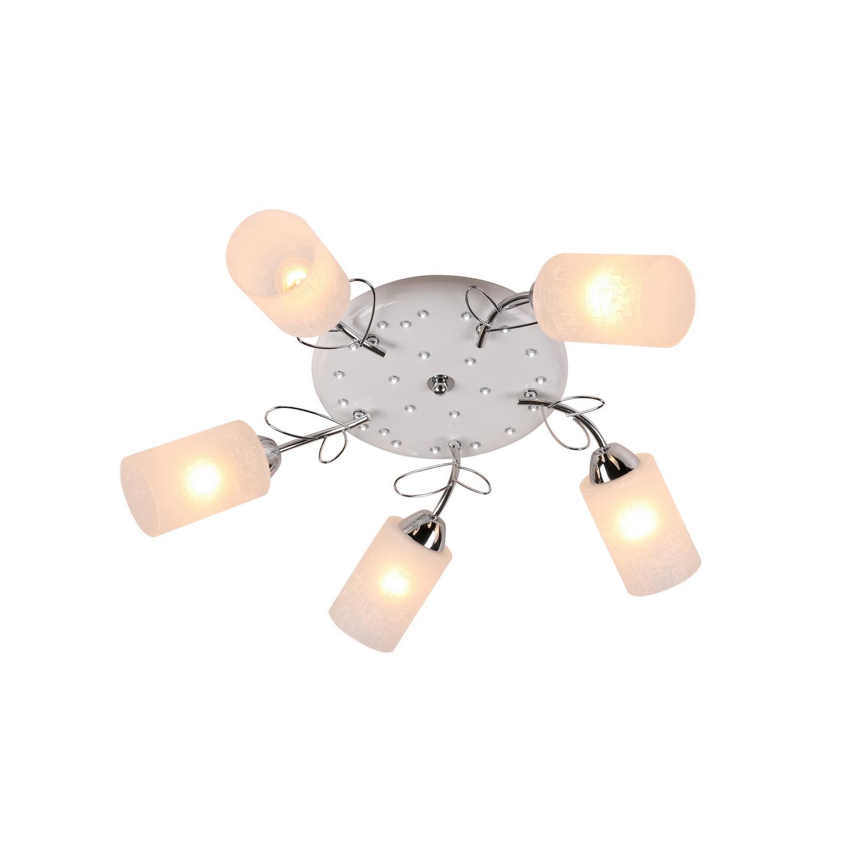 Люстра потолочная AldaЛюстры потолочные<br>Люстра имеет светодиодную подсветку (входит в комплектацию).<br>Лампочки не входят в комплект люстры. <br>Люстра поставляется в разобранном виде и имеет в комплекте все необходимые для монтажа крепежные элементы.&amp;lt;div&amp;gt;&amp;lt;br&amp;gt;&amp;lt;/div&amp;gt;&amp;lt;div&amp;gt;&amp;lt;div&amp;gt;Вид цоколя: E27&amp;lt;/div&amp;gt;&amp;lt;div&amp;gt;Мощность: 60W&amp;lt;/div&amp;gt;&amp;lt;div&amp;gt;Количество ламп: 5&amp;lt;/div&amp;gt;&amp;lt;/div&amp;gt;<br><br>Material: Стекло<br>Width см: None<br>Depth см: None<br>Height см: 20<br>Diameter см: 71