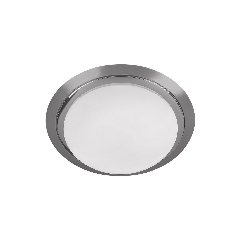 Светильник настенный AlessaБра<br>Светильник со стеклянным плафоном и встроенной светодиодной матрицей  мощностью 12 W (эквивалент лампы накаливания 80 W). Цветовая температура 4000-4200К. <br>Светильник поставляется в собранном виде и имеет в комплекте все необходимые для монтажа крепежные элементы.<br><br>Material: Стекло<br>Width см: None<br>Depth см: None<br>Height см: 10<br>Diameter см: 26