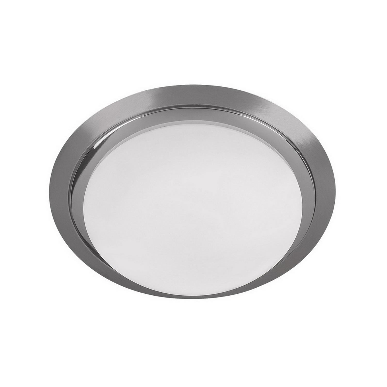 Светильник настенный AlessaБра<br>Светильник со стеклянным плафоном и встроенной светодиодной матрицей  мощностью 16 W (эквивалент лампы накаливания 105 W). Цветовая температура 4000-4200К. <br>Светильник поставляется в собранном виде и имеет в комплекте все необходимые для монтажа крепежные элементы.<br><br>Material: Стекло<br>Width см: None<br>Depth см: None<br>Height см: 10<br>Diameter см: 33